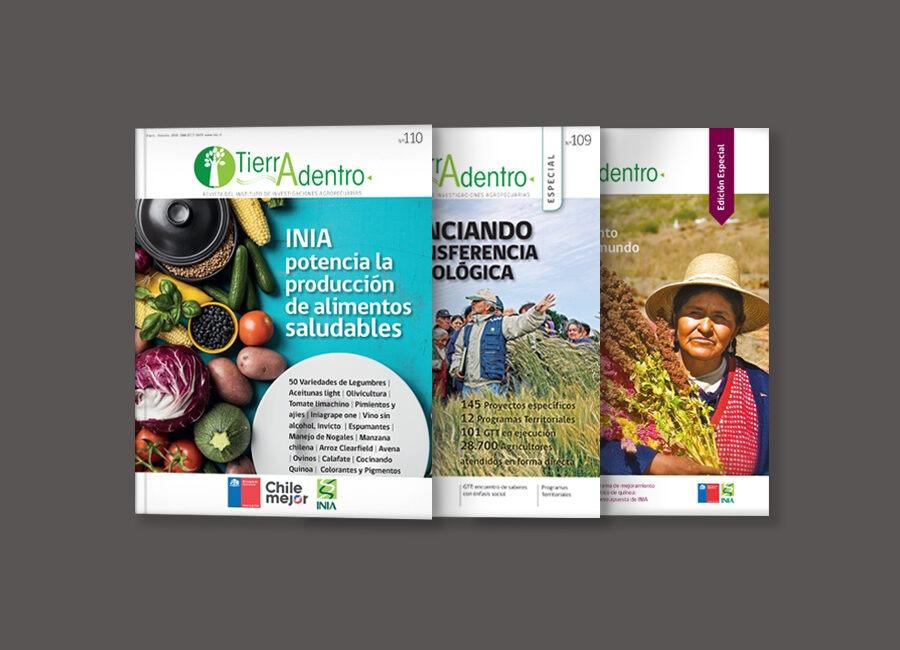 Revista Tierra Adentro, INIA